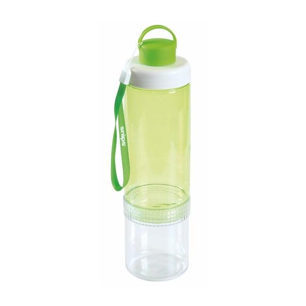 Zelená fľaša na vodu Snips Eat&Drink, 750 ml