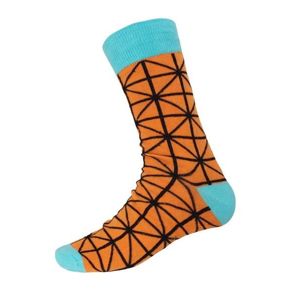 Ponožky Blue Ornament, velikost 40-44