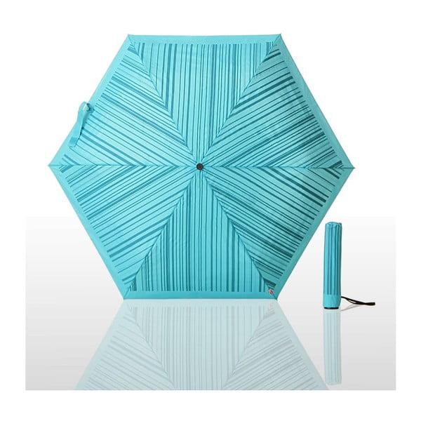 Skládací deštník Waterlock, modrý