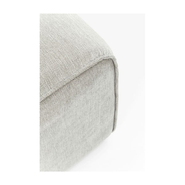 Šedý puf Kare Design Infinity,50x100cm