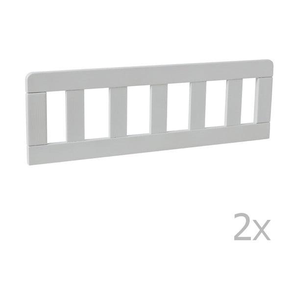 Classic 2 darab fehér leesésgátló, 160 x 70 cm - Pinio