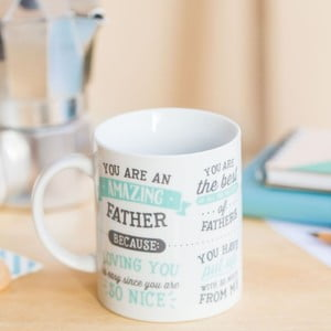 Cană Mr. Wonderful You are amazing father, 350 ml