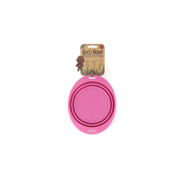 Cestovní miska Beco Travel Bowl 18.5 cm, růžová