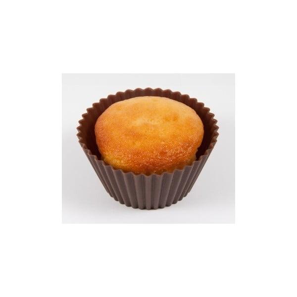 Silikonové formičky na muffiny Magdalena, 6 ks