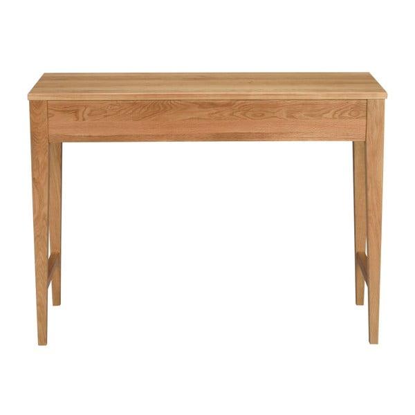 Masă cu sertar din lemn de stejar Folke  Fulla