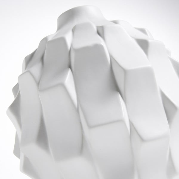Bílá váza La Forma Nisha