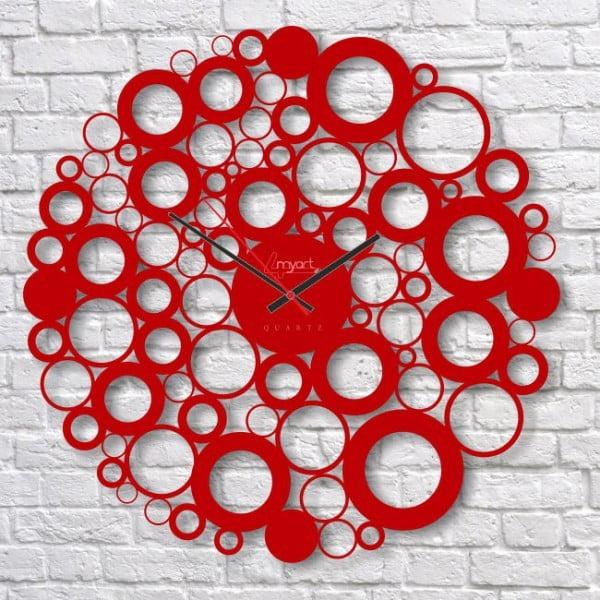 Nástěnné hodiny Red Bubble