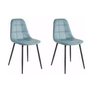Sada 2 modrých židlí Støraa Lamar