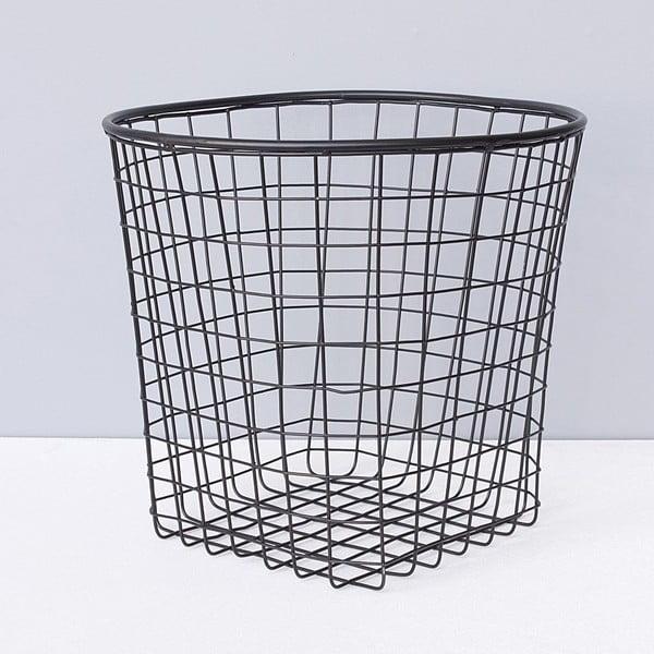 Kovový košík ComingB Black Basket
