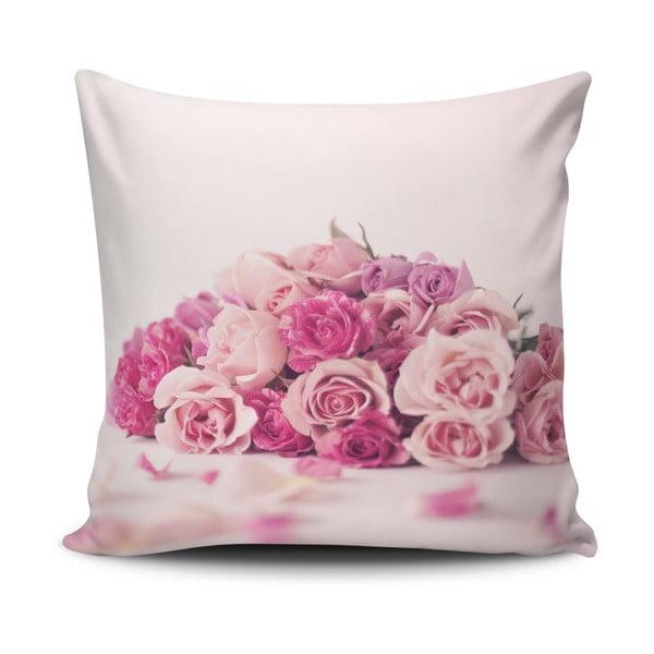 Povlak na polštář s příměsí bavlny Cushion Love Nelo, 45 x 45 cm
