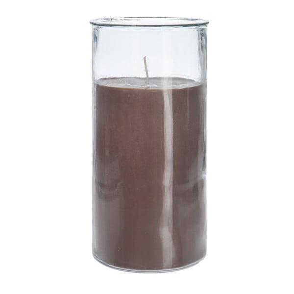 Svíčka Cylinder Dark, 18x37 cm