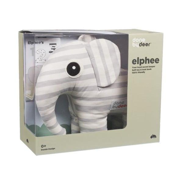 Mazlivá hračka Elphee s obrázkovou knížkou