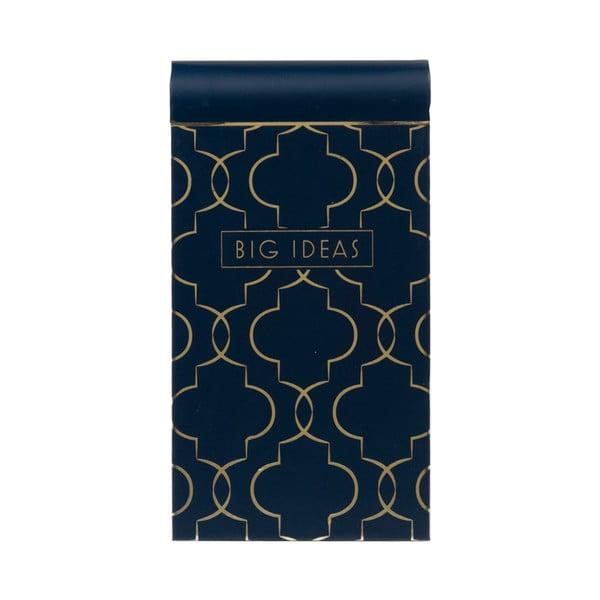 Bloček Tri-Coastal Design Navy Blush, modrý