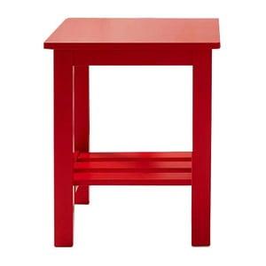 Noční stolek Trend Range, červený