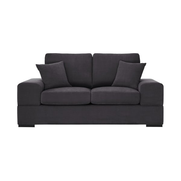 Antracytowoszara sofa 2-osobowa Jalouse Maison Dasha