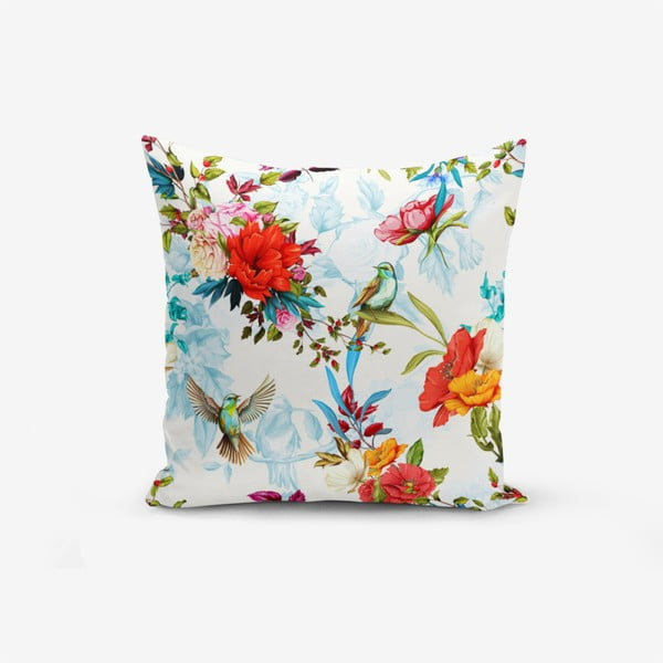 Față de pernă Minimalist Cushion Covers Ethnic Bird, 45 x 45 cm