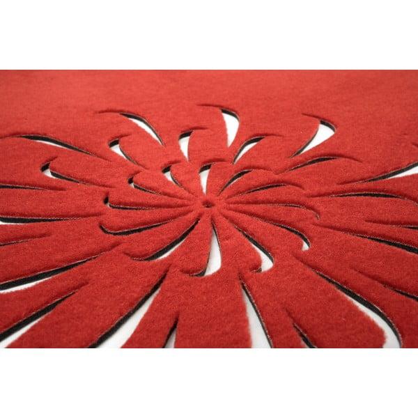 Koberec Kioto 170 cm, červený