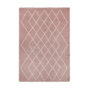 Růžovo-krémový koberec Mint Rugs Allure, 120 x 170 cm