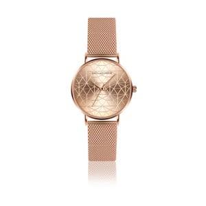 Dámské hodinky s páskem z nerezové oceli v barvě růžového zlata Emily Westwood Sophia