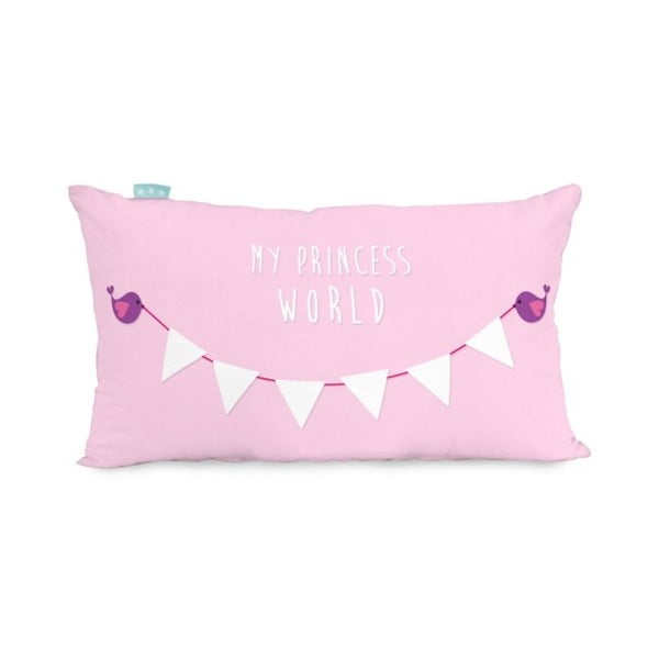 Povlak na polštář Little W Princess, 50 x 30 cm