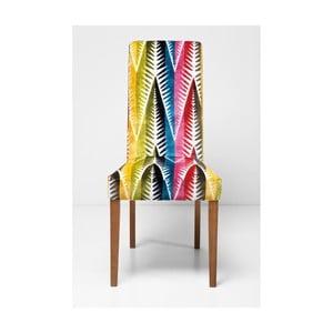 Polstrovaná jídelní židle Kare Design Econo Slim Palm Leaf