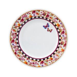 Porcelánový mělký talíř Melli Mello Isabelle, 26.5cm