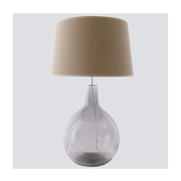 Stolní lampa Avelino, béžová