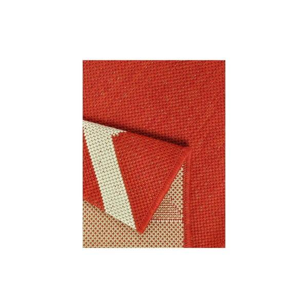 Kuchyňský koberec Milk&Coffee 80x200 cm, červený