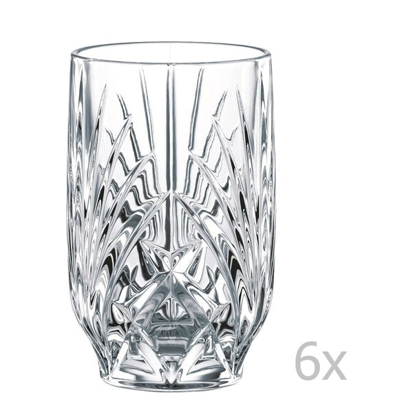 Set 6 pahare din cristal Nachtmann Fruit Juice Tumbler, 265 ml