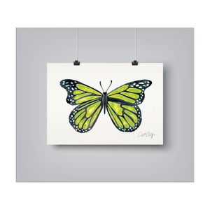 Plakát Americanflat Butterfly, 30x42cm