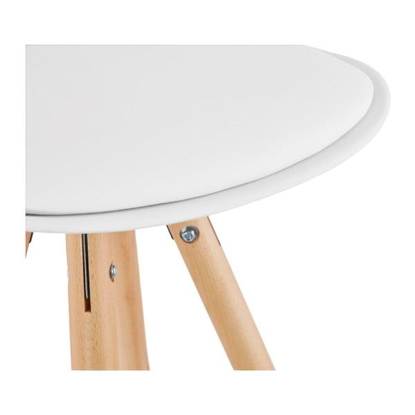 Bílá barová židle Kokoon Anau, výškasedu64cm