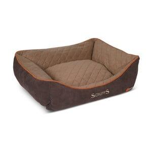 Psí pelíšek Thermal Bed 75x60 cm, hnědý