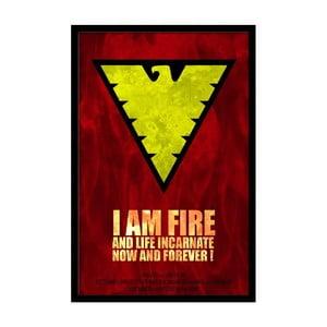 Plakát I Am Fire, 35x30 cm