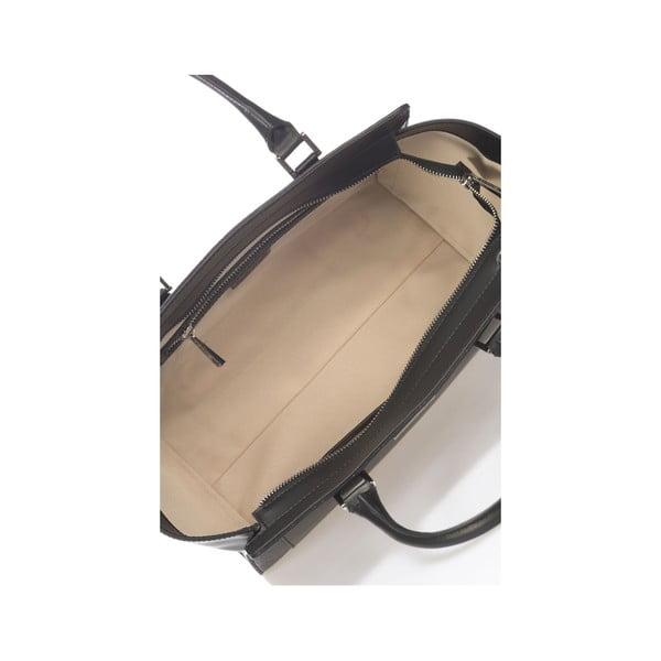 Kožená kabelka Krole Kristen, černá