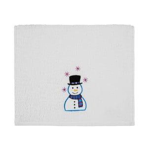 Osuška Christmas Snowman White, 30 x 50 cm