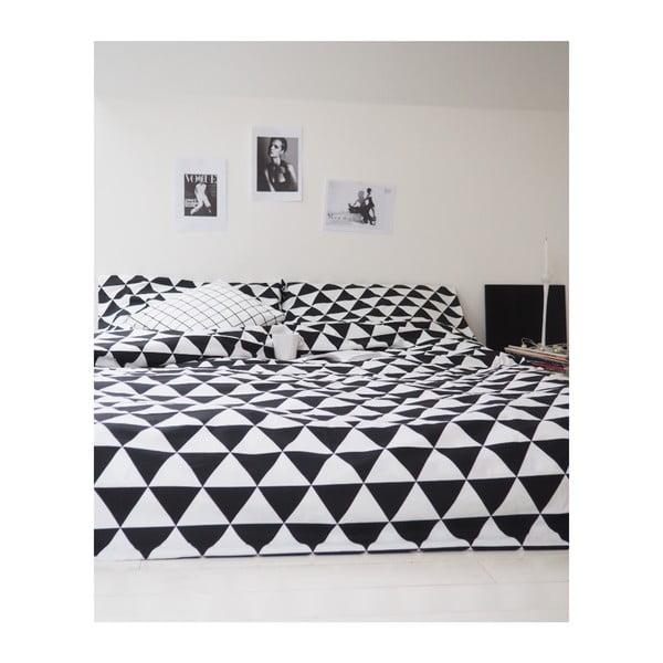 Lenjerie de pat So Homely Big Triangles, 140 x 200 cm