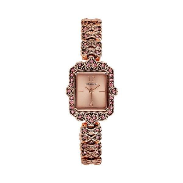 Dámské hodinky v barvě růžového zlata Manoush Sapphire