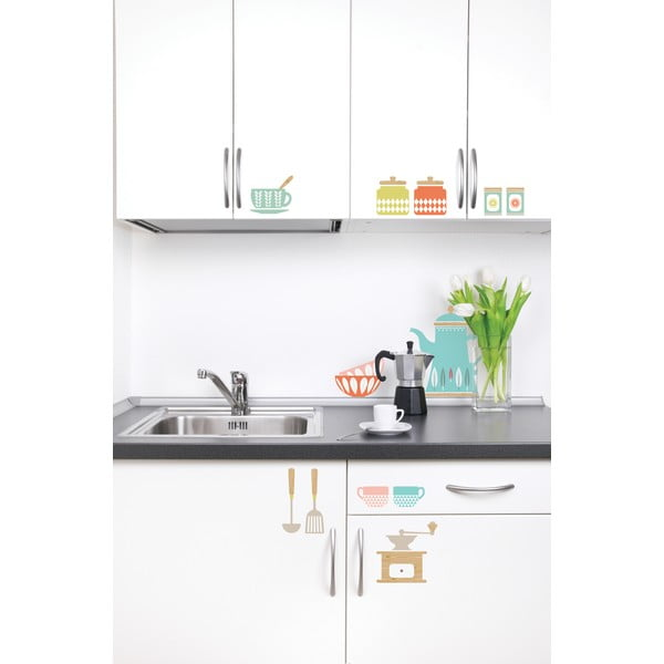 Sada samolepek Kitchenware Wall