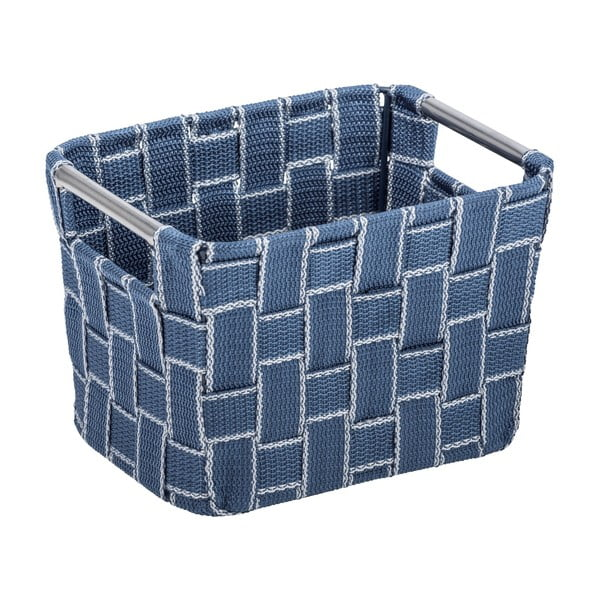 Mały niebieski koszyk Wenko Fedra