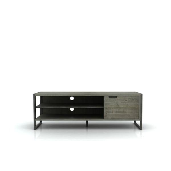 Szafka pod TV z drewna akacji Livin Hill Flow, 50x150 cm