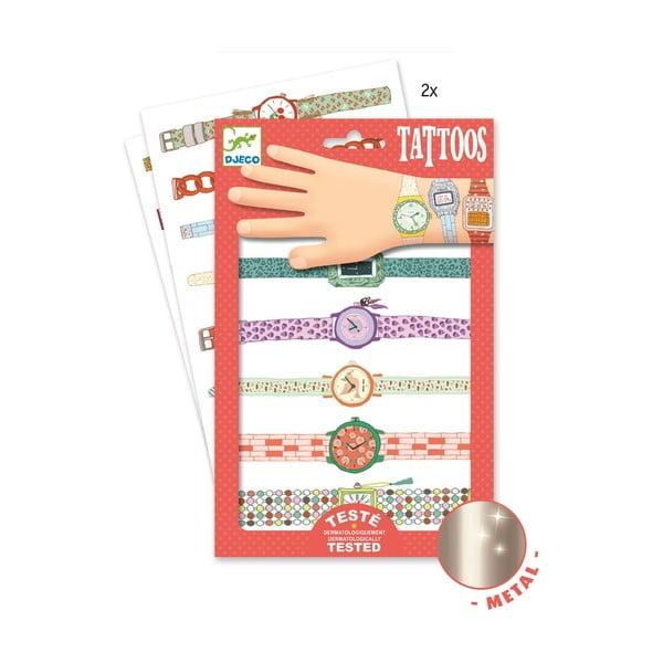 """Tatuaje pentru copii Djeco """"Ceasuri"""""""