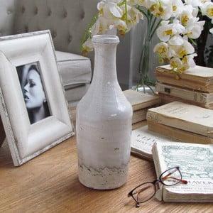 Váza Raw White, 11x31 cm