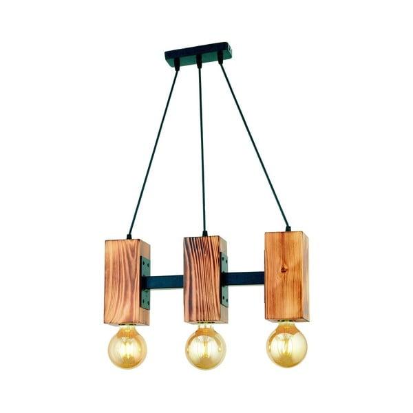 Závěsné svítidlo z habrového dřeva Carina Tres