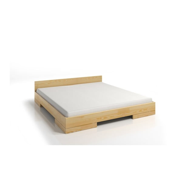 Dvoulůžková postel z borovicového dřeva SKANDICA Spectrum, 180x200cm