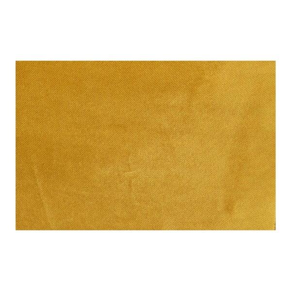 Žlutý polštář De Eekhoorn Spool, délka52cm
