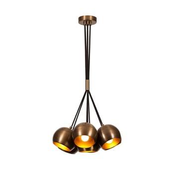 Lustră Opviq lights Sivani, bronz