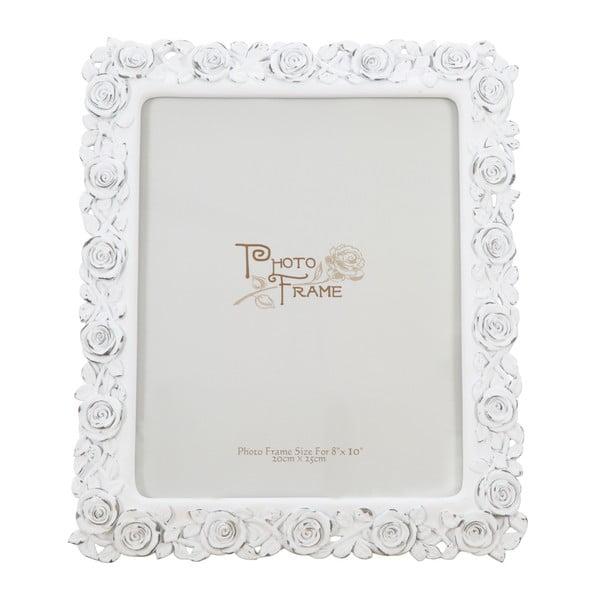 Rose fehér képkeret, kép mérete 20 x 25cm - Mauro Ferretti