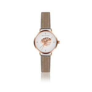Dámské hodinky s páskem z nerezové oceli ve zlaté a stříbrné barvě Emily Westwood Monstera