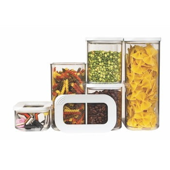 Set 5 cutii pentru depozitare alimente Rosti Mepal Modula Starter de la Rosti Mepal