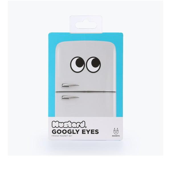 Magnetka ve tvaru očí Just Mustard Googly Eyes